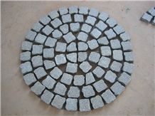 Light Grey Granite Cobble Stone