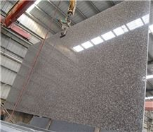 China Pink Granite G664 Majestic Mauve Polished Gang Saw Slabs,Cheap Price Bainbrook Brown Countertop,Quarry Factory Luoyuan Violet Stair Treads, Misty Brown Star Big Slabs, Cherry Red Small Slabs