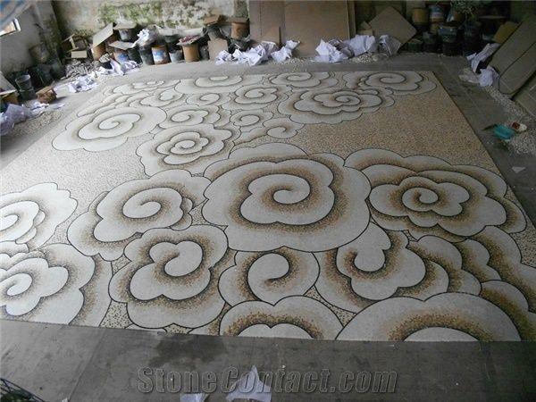 Decorative Wall Floor Carpet Medallion Tiles Square