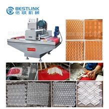 Bestlink Stone Splitting Machinery, Multi Blades Mosaic Stone Cutting Machine, Chopping Machine, Paving Stone Machines, Saw Cut Face Granite&Marble Tile Cutting Machine from China
