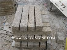 All Sides Picked G682 Golden Yellow,Golden Rust, Rustic Yellow , Golden Granite,Yellow Granite,All Sides Picked/Pineapple Tile/Cut to Size, Slabs/Cobbleflooring/Walling/Pavers/Granite Pillar