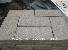 All Sides Picked G682 Golden Yellow,Golden Rust, Rustic Yellow , Golden Granite,Yellow Granite,All Sides Picked/Pineapple Tile/Cut to Size, Slabs/Flooring/Walling/Pavers