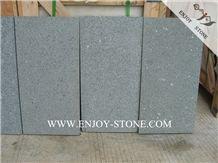 Bush Hammered China Dark Green G612 Granite Wall Covering Tiles&Slabs,Zhangpu Green Granite Floor Tiles,Granite Skirting,Granite French Pattern