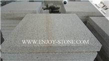 Bush Hammered Tiles G682 Golden Yellow,Golden Rust, Rustic Yellow , Golden Granite,Yellow Granite,Bush Hammered Tile/Cut to Size, Slabs/Flooring/Walling/Pavers/Granite