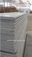 China New G603 Granite Stairs&Risers,Light Grey Granite Stair Treads,Deck Stair