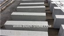 G654 Sesame Grey Granite, Flamed Kerbstones,Impala Black Kerb Stone for Road Side