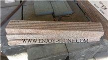 Grooved Tiles G682 Golden Yellow,Golden Rust, Rustic Yellow , Golden Granite,Yellow Granite,Grooved Tile/Cut to Size, Slabs/Flooring/Walling/Pavers/Granite Pillar