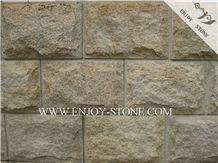 Mushroom/Natural Split Tiles G682 Golden Yellow,Golden Rust, Rustic Yellow , Golden Granite,Yellow Granite,Mushroom/Natural Split Tile/Cut to Size, Slabs/Flooring/Walling/Pavers/Granite