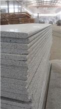 Polished Rebated Bullnose G603 Sesame White, Salt & Pepper, Padang White, White Granite Polished Rebated Bullnose Tiles Pool Pavers/Cut to Size/Slabs/Flooring/Walling/Pavers/Granite