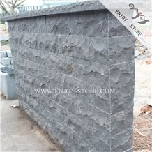 Split Face Black Basalt Bricks Wall Cladding and Floor Paving,Exterior Walling and Building