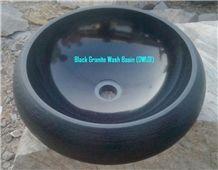 India Absolute Black Granitewash Basin ,Natural Stone Basin,Black Rive Stone Sinks & Basins,Irregular Vessel Sinks