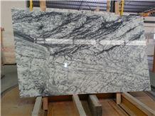 Dynossaurus Marble, Estremoz White Marble with Black Veins Slabs