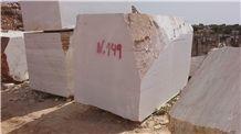 Estremoz White Luxury Marble Block, Branco Estremoz Extra, White Portugal Marble Block