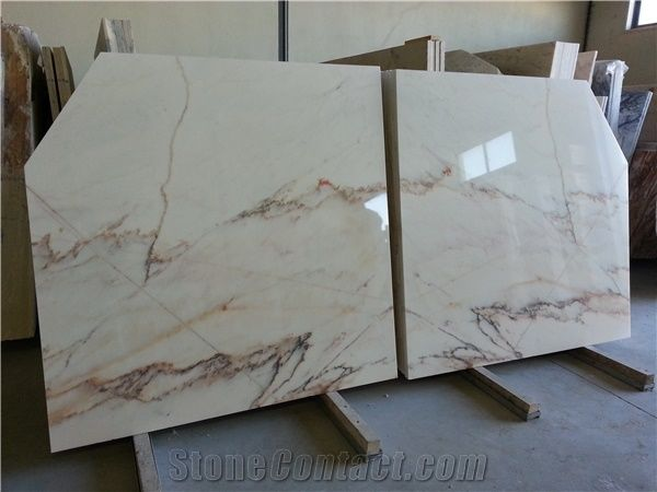 Estremoz White Marble With Brown Veins Marmore Estremoz
