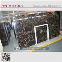 Black Golden Flower Marble Slabs Tiles Wall Clading Flooring Covering Athens Portoro Black Nero Portoro Yellow Black Marble Athens Golden Black Marble with White Veins