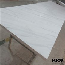 Ce Approved Corian and Cambria 12mm Textured Marble Acrylic Solid Surface Sheets Used for Restuarant Table Tops