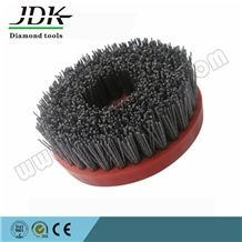 4 Inch Round Antique Brush for Granite Polishing