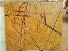 Professional Biggest Factory Rainforest Brown Marble Slabs,Tiles