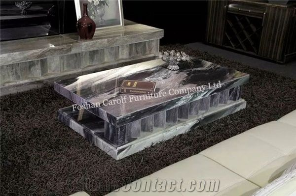 Italy New Design Living Room Furniture Modern Marble Coffee Table ...