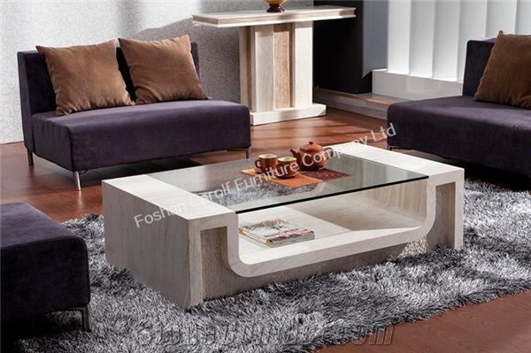 Luxury Italian Marble Coffee Table For, Marble Living Room Table