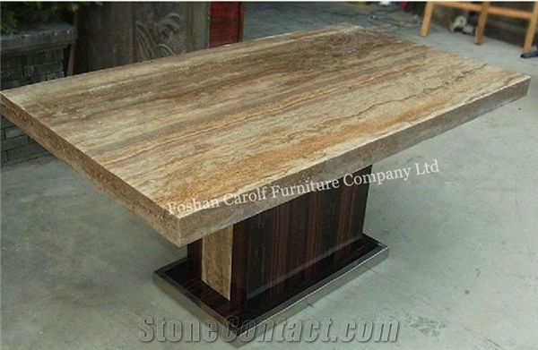 Modern Italian Marble Top Dining Table