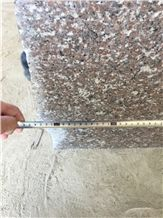 China Natural G648 Light Pink/Zhangpu Red/Queen Rose Granite 2&3cm Small&Middle Slabs, Polished Floor Covering/Counter-Top/Wall Cladding