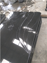 Shanxi Black Granite Tombstone Yard