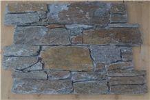 Cement Back Rusty Slate Culture Stone