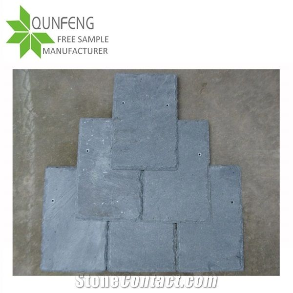 Price Light Grey Slate Roof Tiles For Stone Cladding