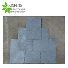 Cheap Price Light Grey Slate Roof Tiles for Stone Cladding/Roofing Slate Tile