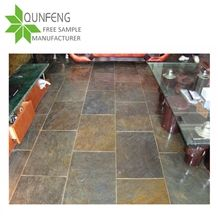 China Rusty/Rustic/Rust Slate Tiles&Slabs for Paving Stone Cladding