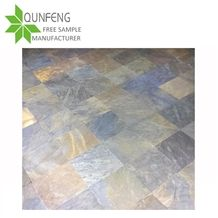 Durable Non-Fading Natural Split Surface Multicolor Slate Floor Tile/Wall Slate Tile