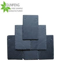 Jiangxi Cheap Natural Black Roofing Slate Tiles,Slate Roof Stone Tiles for Coating
