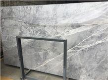 Grey Emperador/Silver Grey Tundra Grey Marble Slabs/Silver Shadow Marble Slab/ Walls / Floors