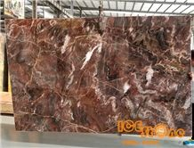 China Polished Louis Agate Venice Red Marble Tiles & Slabs/Chinese Natural Inness/Bookmatch Tv Set Wall/Floor Covering/Opus Pattern/Jumbo/ Project