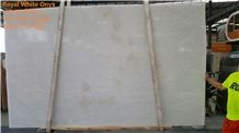 Rhino White Onyx Tiles and Slabs,Namibia Onyx Covering with Leather or Polish Finished,Own Factory with Italian Quality Process and Bookmatch Pattern