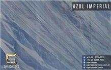 Azul Imperial Quartzite Slabs