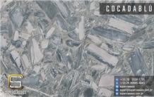 Cocadablu Quartzite Slabs, Cocada Blue Quartzite