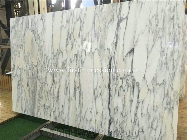 Hot Sale Italy Statuario Slabs Tiles/ Italian White Marble