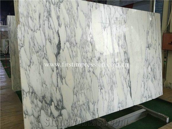 Hot Sale Italy Statuario Slabs & Tiles/ Italian White Marble