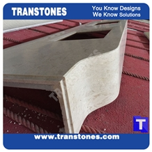Faux Stone for Kitchen Countertops & Bath Tops