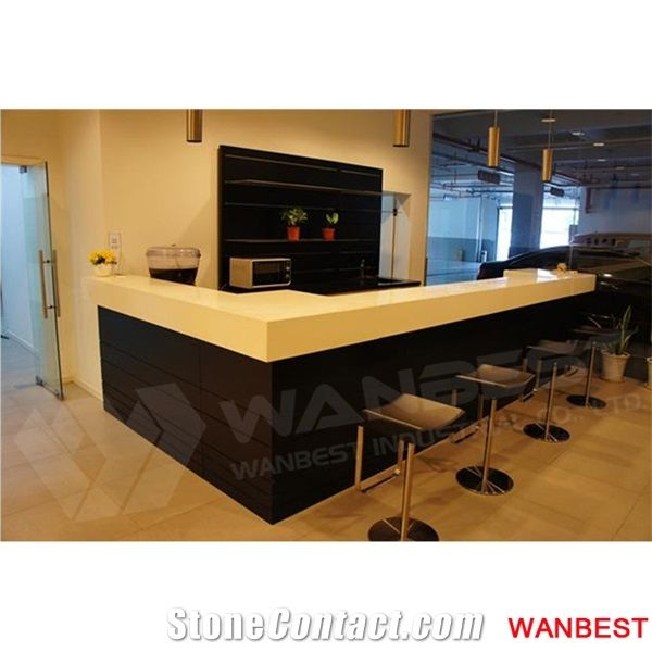 Special Design Artificial Marble Top Round Circle ...