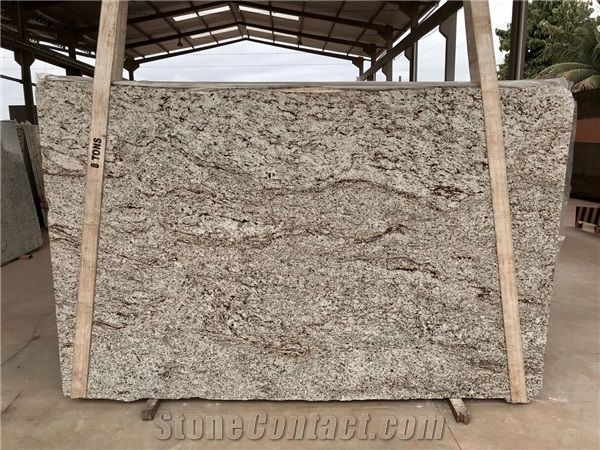 Giallo Santa Cecilia Light Granite St Slabs