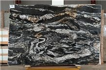 Fusion Black Granite Slabs
