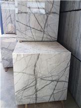 White Spider Marble, Black & White Marble, Crystal White Marble, White Marble, Tunder Marble