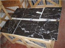 Grigio Carnico, Grey/Black Italian Marble Slabs and Tiles