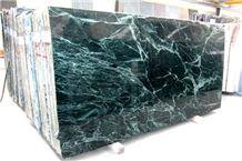 Verde Alpi Chiaro/Scuro, Green Marble Stone Slabs and Tiles