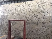 Persian Pearl Granite Brazil White Polished Slabs,Machine Cutting Panel Floor Covering,Hotel Lobby Walling