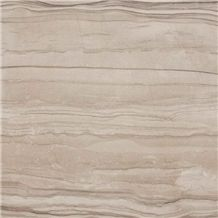 Silkwood China Beige Serpeggiante Marble Tiles Machine Cutting Slabs, Pattern for Floor Covering Paving,Bathroom Flooring Stepping,Wall Cladding