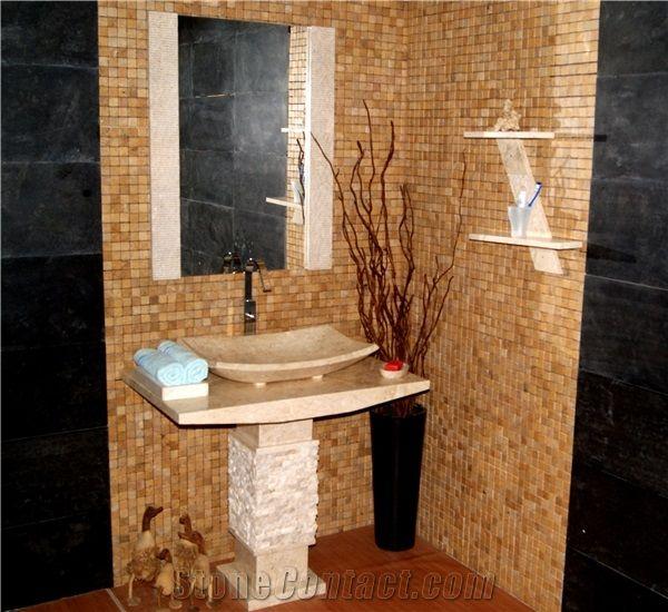 Bns 5 Single Baby Pedestal Basin / Natural Sink / Vanity Basins ...